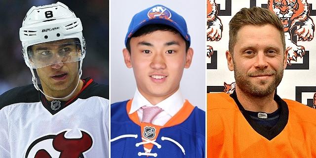 """Číňan, Belgičan a 7 dalších """"exotů"""", které v minulosti draftovaly kluby z NHL"""