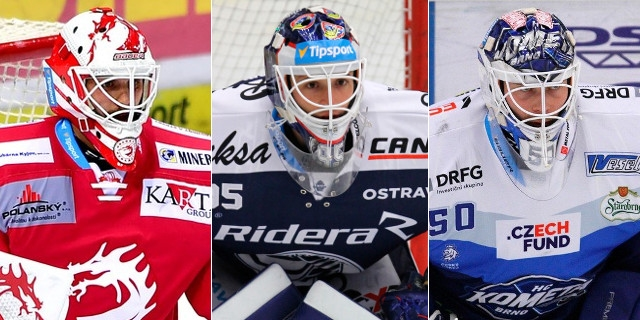 Kvalita mezi třemi tyčemi. 7 českých brankářů z extraligy, kteří prošli draftem NHL