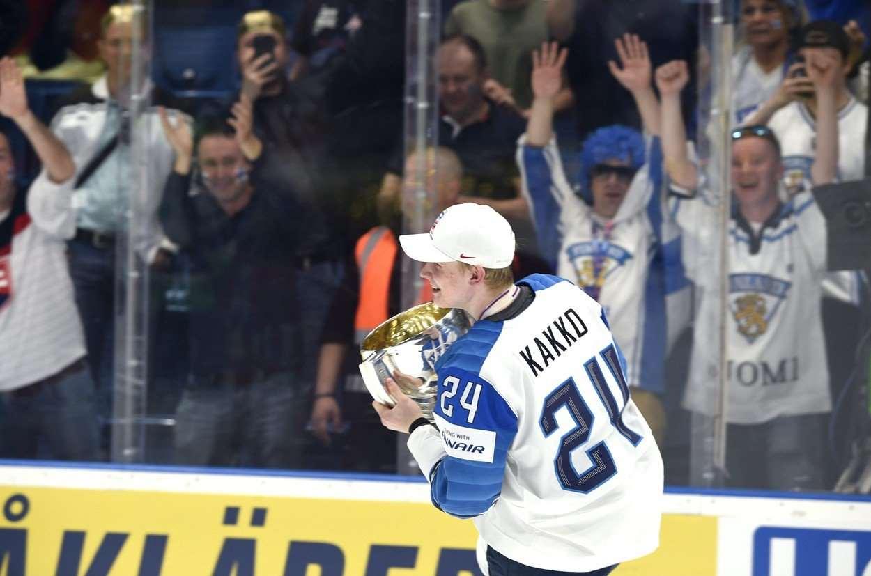349699858f7f2 Finský supertalent. Tři světové šampionáty, z nichž si Kaapo Kakko ...